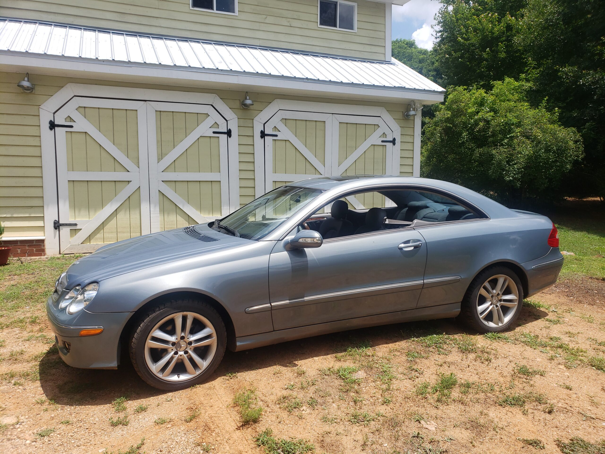 13 Year Owned 2006 Mercedes Benz CLK350