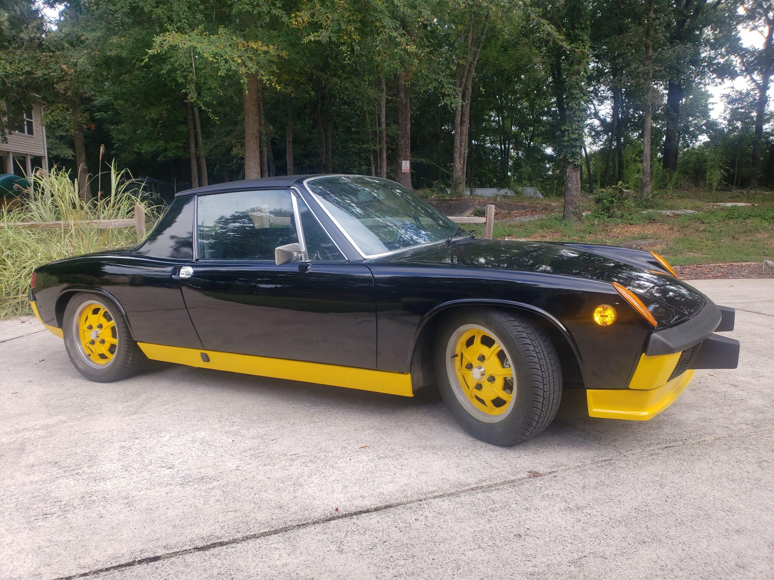 1974 Porsche 914 LE Bumblebee